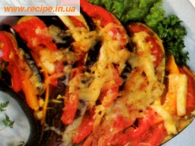 С овощами и сыром кулинарные рецепты